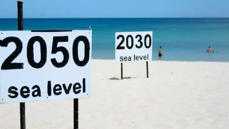 livello del mare aumenta